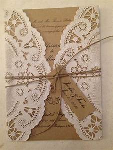 17 best ideas about paper doilies wedding on pinterest With wedding invitations with paper doilies