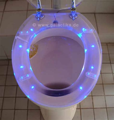 lighted toilet seat led toilet seat galactika led lights for the