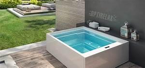 Mini Whirlpool Balkon : outdoor whirlpool spa kaufen von optirelax wohnen in ~ Watch28wear.com Haus und Dekorationen