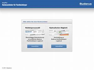 Wärmeleistung Heizkörper Berechnen : buderus easyplan ipad app bibliothek haustechnikdialog ~ Themetempest.com Abrechnung