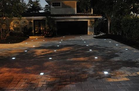 solar brick lights solar led paver bricks gadgetking