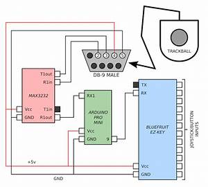Github  Serialtrackball  Arduino Sketch For Reading And Decoding Serial Mouse Data