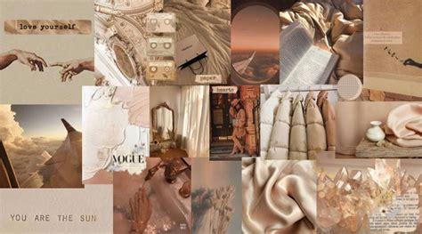 beige aesthetic computer wallpaper in 2021 aesthetic