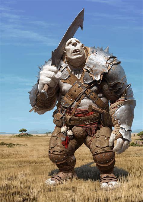 orcs trolls gnomes  fantasy characters