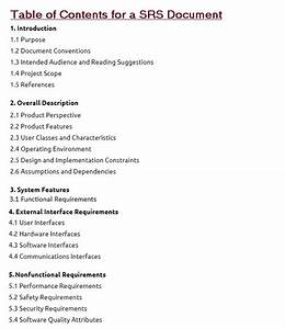 software requirements specification document with example With srs document for point of sale system