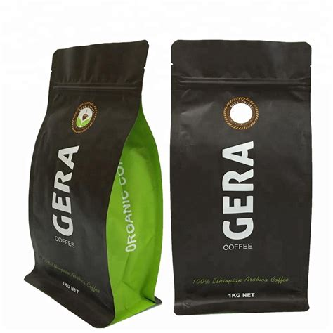 Coffee bags with valve have the following features: Custom Printed Flat Bottom Ziplock Coffee Packaging Bags With Valve 4oz 8oz 16oz - Buy Coffee ...