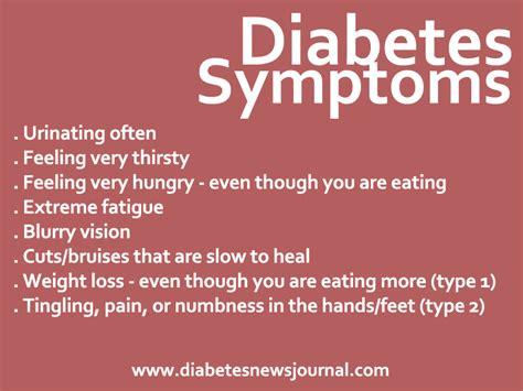 The Most Common Diabetes Symptoms