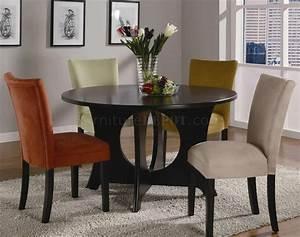 Castana Dining Set 5pc 101661 Cappuccino W  Optional Color