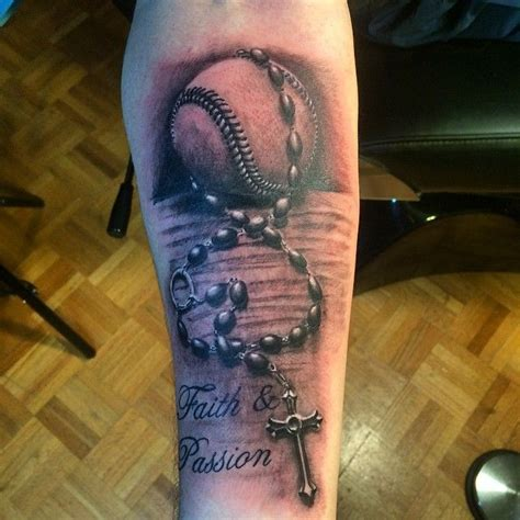 sporty baseball tattoo designs   love