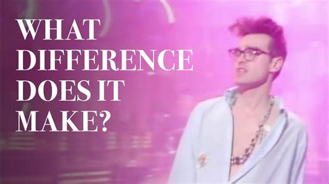 The Smiths - What Difference Does It Make? (Official Music ...