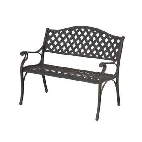 home depot outdoor bench outdoor benches patio chairs the home depot