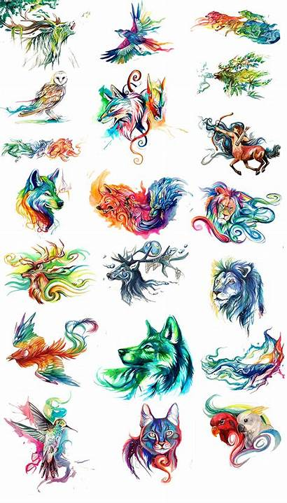 Watercolor Animals Painting Painted Clipart Paint Freepngclipart
