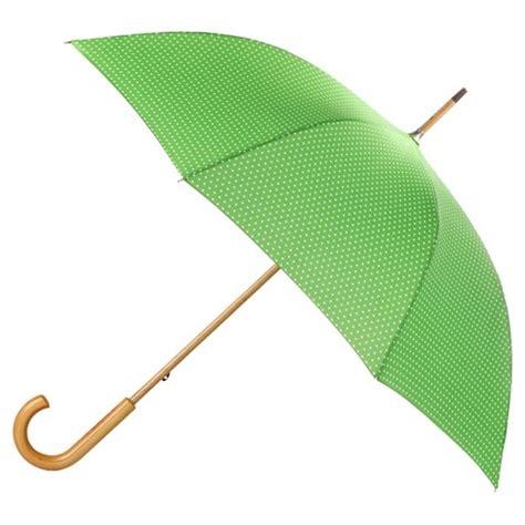 totes 174 polka dot print stick umbrella green target