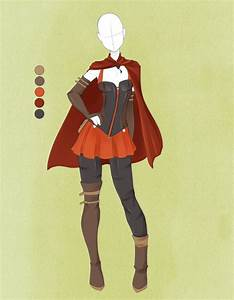 Commission Outfit June 04  by VioletKy on DeviantArt | Clothes | Pinterest | Red riding ...