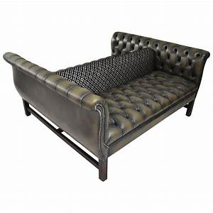 Double-Sided Chesterfield Sofa at 1stdibs