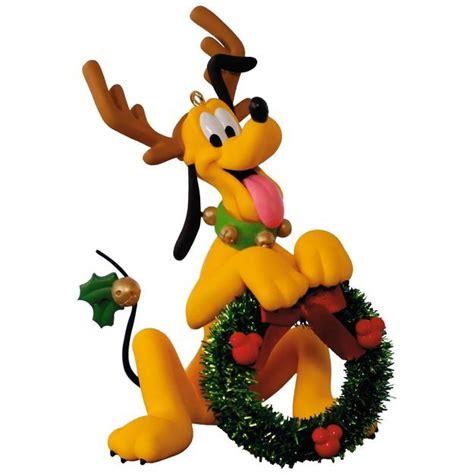 pluto santas  helper ornament ornament disney