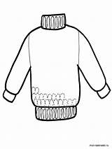 Coloring Clothing Mycoloring Printable sketch template