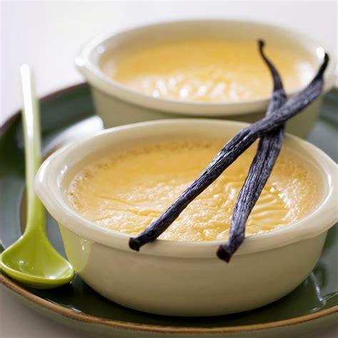 cuisine legere recette crème légère à la vanille