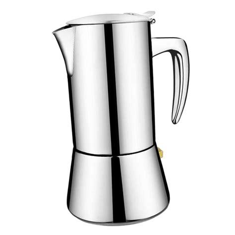 The original bialetti moka express. 200ml 300ml Percolator Espresso Coffee Maker Stainless Steel Stove Top | eBay
