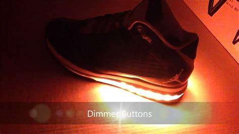 nike jordan light up light up air jordans by vegas footwear youtube