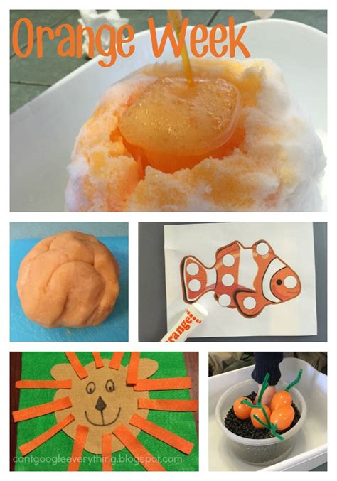 color week 4 orange activities for teaching and learning 948 | a8a4a5548b1aeee37f32e3a15d7c9241