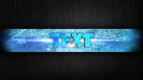 speed art ice channel banner photoshop cs cinema