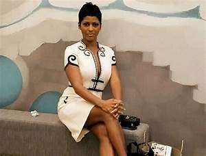 Tamron Hall Dazzles In Red Dress With Plunging Neckline Amid Uncertain Future For Her Show