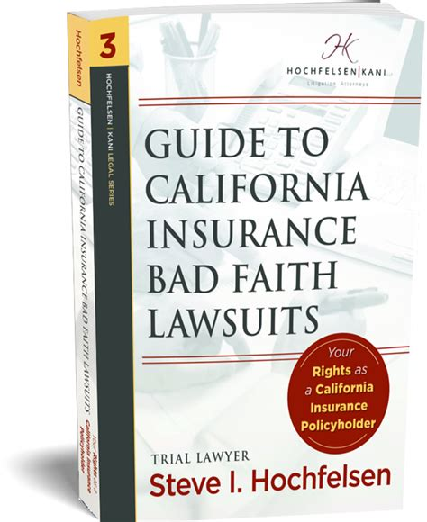 Insurance companies are legally required to act in good faith and to use only fair claims practices. Guide to California Insurance Bad Faith Lawsuits   Book