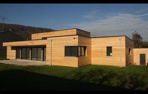 maisons modernes en bois maison moderne bois