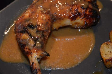 norbert cuisine cuisses de poulet laquées au miel orange et moutarde sevencuisine