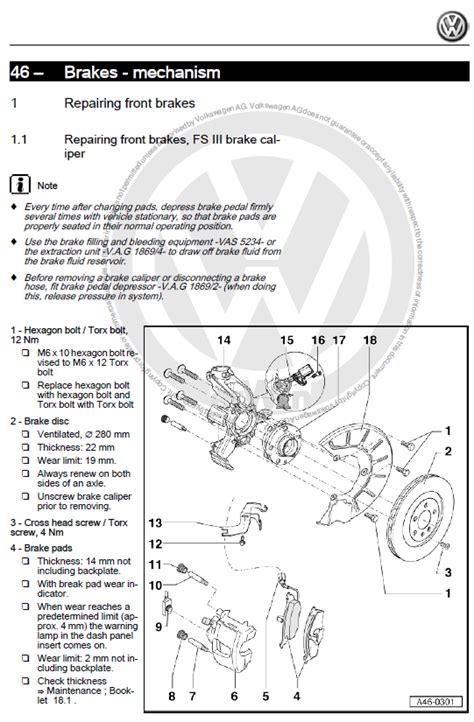 volkswagen golf     factory repair manual