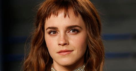 Emma Watson Had Giant Time Tattoo The Oscars
