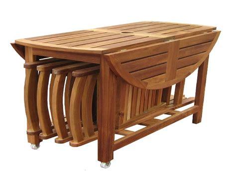 teak garden chairs folding dining table set folding