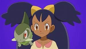 Iris and Axew Pokemon by FezVrasta on DeviantArt