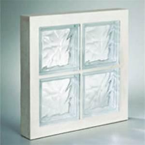 Panneau Brique De Verre : panneau de verre la roch re incolore 47 x 47 cm ~ Dailycaller-alerts.com Idées de Décoration