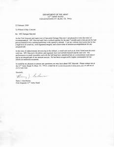 letter of recommendation military us army letter of recommendation