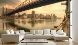 Living Room Wall Mural Ideas
