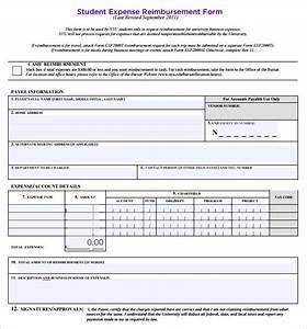 Reimbursement Voucher Template Free 8 Sample Expense Reimbursement Forms In Pdf