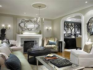 Traditional, European Style Living Room HGTV