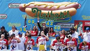 Joey Chestnut wins the 2018 Nathan's Hot Dog Eating ...  Contest