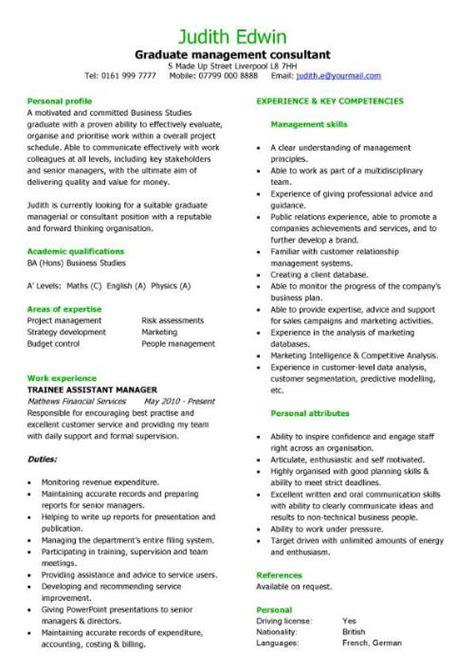 management cv template managers jobs director project management cv exle