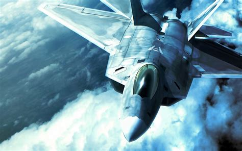 F 22 Raptor In Ace Combat Wallpapers  Hd Wallpapers Id