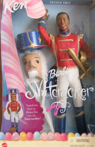 Barbie Nutcracker KEN Prince Eric Doll AA w Mask (2001