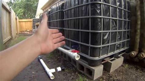 step  ibc rainwater harvesting system connecting