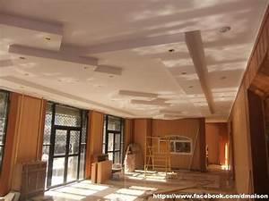 Decoration Faux Plafond : placoplatre ba13 travaux deco ~ Melissatoandfro.com Idées de Décoration