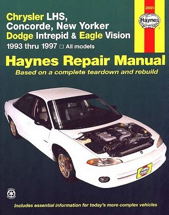 service manuals schematics 1993 dodge intrepid electronic valve timing lhs concorde new yorker intrepid vision repair manual 1993 1997