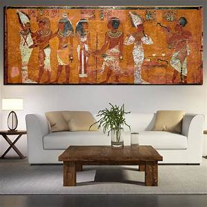 Egyptian decor canvas painting oil wall pictures