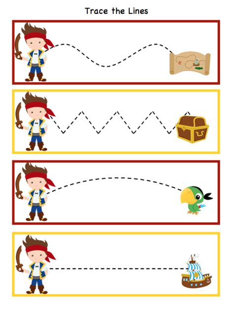 preschool printables pirate 290 | 62498793d734de659667924e2f9f08c9