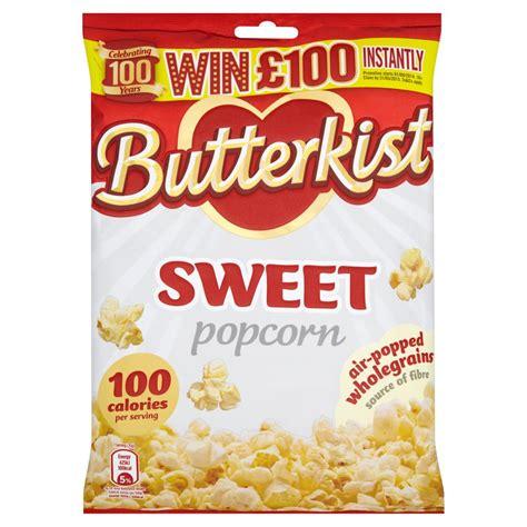 Butterkist Sweet Popcorn 150g   Sharing Crisps   Crisps, Nuts & Snacks   Food Cupboard   Iceland