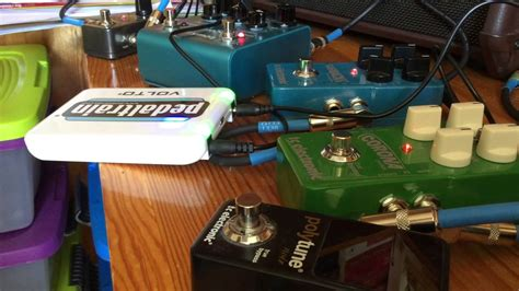 pedaltrain volto and strymon bluesky 4 other pedals